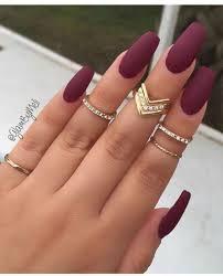 matte nail inspo for fall nail art pinterest matte nails