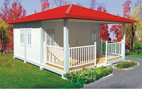 prefab flat pack container house with balcony zhejiang putian