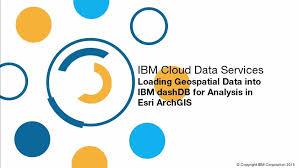 tutorial arcgis pdf indonesia load geospatial data into dashdb to analyze in esri arcgis ibm