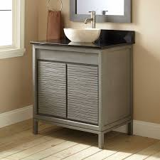 modern design vessel sink vanity signature hardware