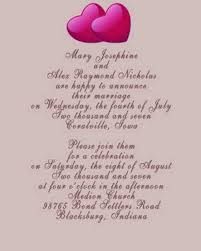 wedding msg invitation msg for wedding isure search