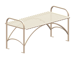 park seating benches patio furniture