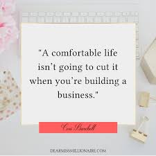 do you want more than a comfortable life clear these road blocks
