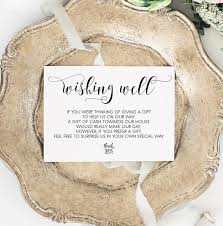 the gift registry wishing well card gift registry card wedding wishing well
