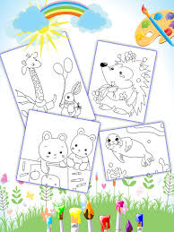 coloring book kids animal android apps google play