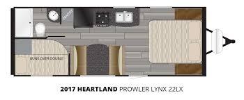 2017 heartland prowler lynx 22lx travel trailer u2013 stock pl17009