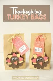thanksgiving turkey bags craft