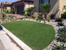 synthetic turf howie in the hills florida landscape design front