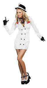 Scarface Halloween Costume Smooth Criminal Gangster Gal Costume Buycostumes