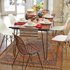Dining Room Collections Wood Flynn Hairpin Dining Collection Dining Room Collections