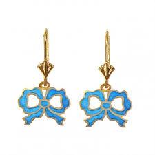 antoinette earrings bo5257 antoinette ribbon bijoux commelin