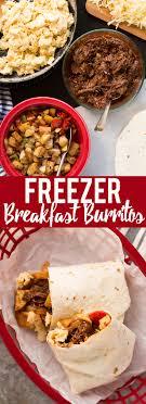 make ahead beef breakfast burritos freezer friendly fox and briar