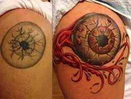 27 best tattoo cover ups images on pinterest tattoo covering