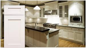 Shaker Kitchen Cabinets Ice White Shaker Cabinet Door Kitchen And Bathroom Cabinets By