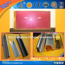 6063 t5 aluminium kitchen cabinet frames aluminium extrusion