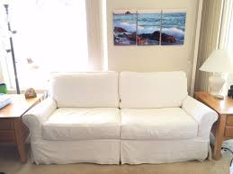 crate and barrel full sleeper sofa gorgeous crate barrel bayside slipcovered full sleeper 78 sofa