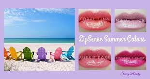 summer colors lipsense summer colors are bright and smudge proof positivelysavvy