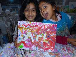 term time classes kids aged 4 years with jenny parsley pie art club