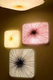 contemporary wall light silk compact fluorescent square