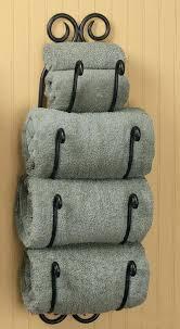 bathroom towel storage ideas tuscan bath towel rack bathroom wall mount holder wine 27 h