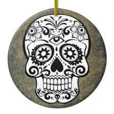 sugar skull ornaments keepsake ornaments zazzle