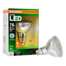 flood light bulbs sylvania sylvania led light bulb 75w equivalent par30 flood dimmable