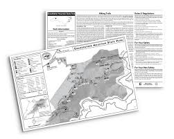 Nc State Map Maps And Brochures Nc State Parks