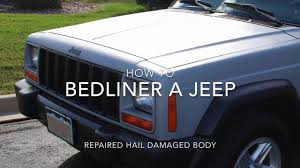 white linex jeep how to paint a jeep with bedliner and rollers youtube
