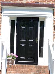 Clear Glass Entry Doors by Black Front Doors With Glass Entry Glassblack Andightsblack Door