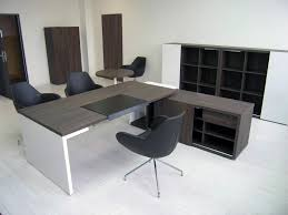 L Shaped Desk Modern Innovative L Shaped Executive Desk All About House Design