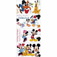 roommates mickey and friends peel stick wall decals rmk scs roommates mickey and friends peel stick wall decals rmk scs the home depot