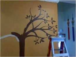 decor tree wall painting diy room decor for teens bedroom ideas