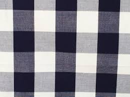 Green And White Gingham Curtains by Navy Blue And White Gingham Checks Cotton Fabric By The Yard