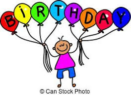 clipart of disabled birthday party boy a doodle sketch of a