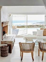 Modern Beach Decor California Beach House With Crisp White Coastal Interiors