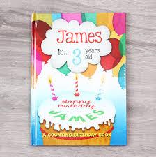 personalised birthday book my 1st years
