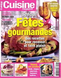 journaux fr cuisine magazine