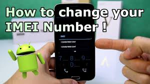 change android imei number root without root
