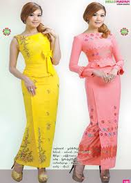 myanmar traditional dress design myanmar traditional dress on
