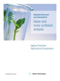 agilent pesticides app compend gas chromatography u2013mass