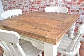 dining table extendable 4 to 8 reclaimed hardwood rustic extending hardwood dining table and chairs