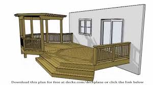deck plans 100 u0027s of free plans available for the diy youtube