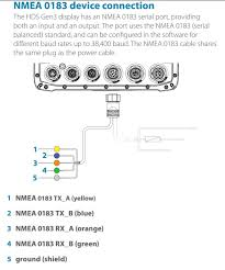 lowrance nmea cable wiring diagram lowrance transducer wiring
