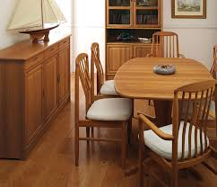 Teak Wood Dining Tables Scandinavian Teak Dining Room Furniture With Well Dining With