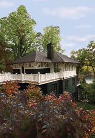 arts and crafts tree house overlooking the severn river maryland