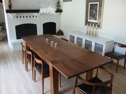 Modern Black Dining Room Sets by Walnut Dining Room Table Home Design Ideas And Pictures