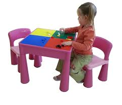 Children S Lego Table Lego Table And Chairs Table Designs