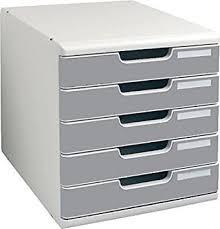 multiform 3014014 casier de rangement pour bureau system 2 modulo