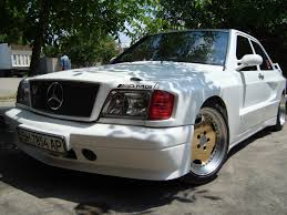 mercedes benz 190e w201 widebody benztuning