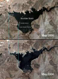Lake Mead Map Shocking Pictures Reveal How Lake Mead Is Shrinking To Dangerously